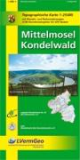 Mittelmosel, Kondelwald (WR): Topographische Karte 1:25000 mit Wander- und Radwanderwegen /Wandergebiet Mosel (Freizeitkarten Rheinland-Pfalz 1:15000 /1:25000)