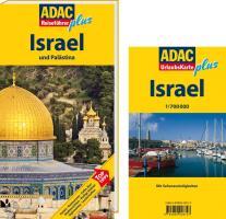 ADAC Reiseführer plus Israel und Palästina: Mit extra Karte zum Herausnehmen