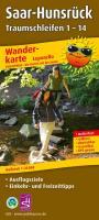 Saar-Hunsrück Traumschleifen 1-14 Wanderkarte 1 : 25 000