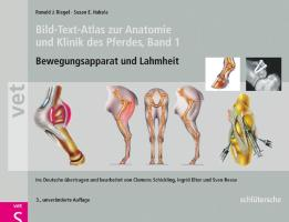 Bild-Text-Atlas zur Anatomie und Klinik des Pferdes: Band 1 Bewegungsapparat und Lahmheiten