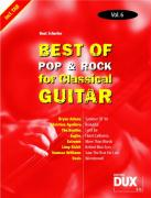 Best of Pop & Rock for Classical Guitar Vol. 6