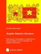 Supplier Selection Decisions - Buhrmann, Christian