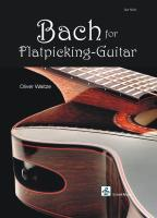 Bach for Flatpicking-Guitar