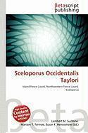 Sceloporus Occidentalis Taylori