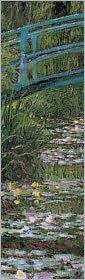 Japanese Footbridge Bookmark - Claude Monet (Illustrator)