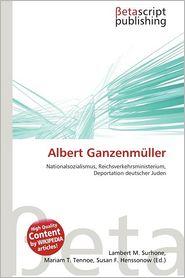 Albert Ganzenm Ller