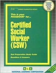 Certified Social Worker - Jack Rudman, National Learning Corp (Editor)