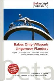 Babes Only-Villapark Lingemeer-Flanders - Lambert M. Surhone (Editor), Mariam T. Tennoe (Editor), Susan F. Henssonow (Editor)