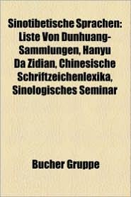 Sinotibetische Sprachen - B Cher Gruppe (Editor)