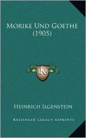 Morike Und Goethe (1905) - Heinrich Ilgenstein