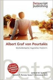 Albert Graf Von Pourtales