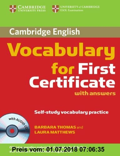 Gebr. - Cambridge Vocabulary for First Certificate with answers z plyta CD