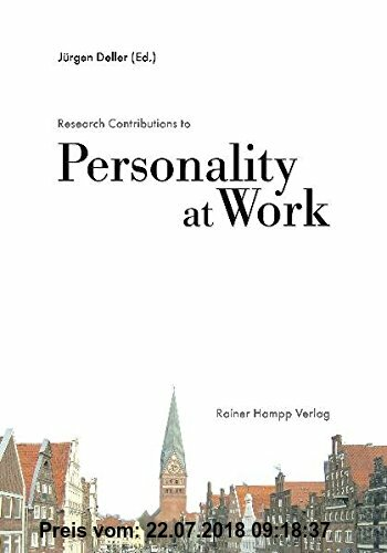Gebr. - Research Contributions to Personality at Work