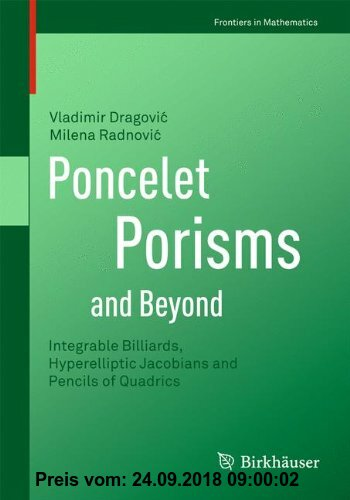 Gebr. - Poncelet Porisms And Beyond: Integrable Billiards, Hyperelliptic Jacobians and Pencils of Quadrics (Frontiers in Mathematics)