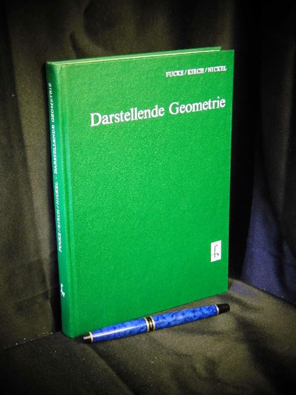 Darstellende Geometrie., Mit 529 Bildern, 97 Beispielen und 65 Aufgaben mit Lösungen. Lehrbücher der Mathematik.