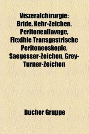 Viszeralchirurgie - B Cher Gruppe (Editor)