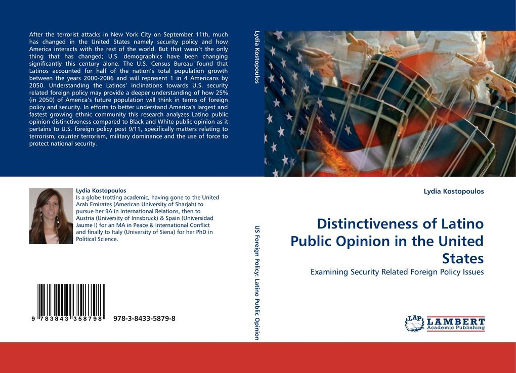 Distinctiveness of Latino Public Opinion in the United States als Buch von Lydia Kostopoulos - LAP Lambert Acad. Publ.