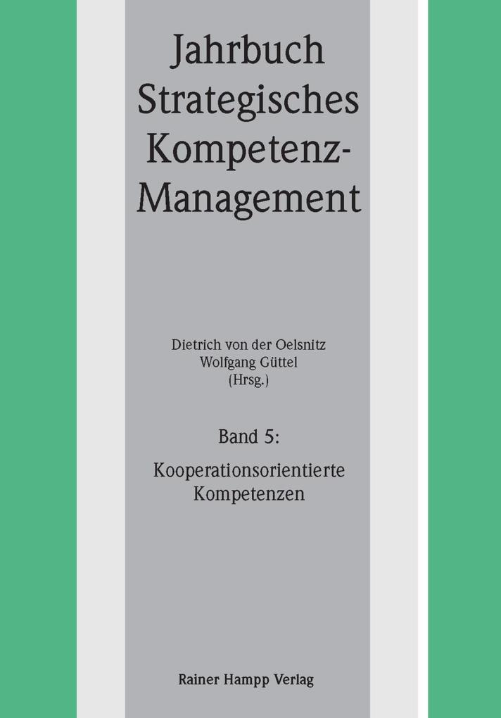 Kooperationsorientierte Kompetenzen als eBook Download von