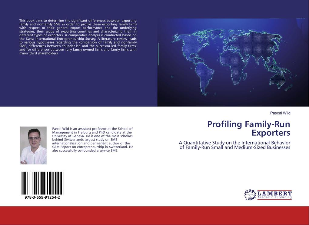 Profiling Family-Run Exporters als Buch von Pascal Wild - Pascal Wild