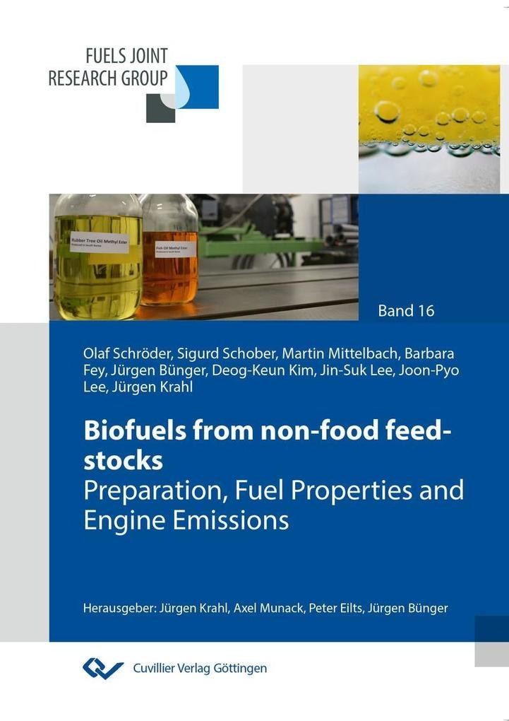 Biofuels from non-food feed-stocks als eBook Download von