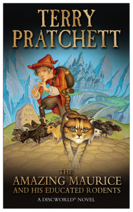 Discworld: The Amazing Maurice and His Educated Rodents - A Discworld Novel. Winner of the Carnegie Medal 2001 - Pratchett, Terry