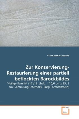 Zur Konservierung-Restaurierung eines partiell beflockten Barockbildes -