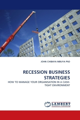RECESSION BUSINESS STRATEGIES - HOW TO MANAGE YOUR ORGANISATION IN A CASH-TIGHT ENVIRONMENT - Chibaya Mbuya, John