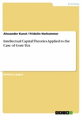 Intellectual Capital Theories Applied to the Case of Gore-Tex - Alexander Kunst, Fridolin Herkommer