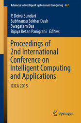 Proceedings of 2nd International Conference on Intelligent Computing and Applications - ICICA 2015 - P. Deiva Sundari, Subhransu Sekhar Dash, Swagatam Das, Bijaya Ketan Panigrahi