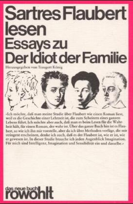 Sartres Flaubert lesen